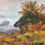 Картина «Осень». Вундер Я.Я. 1955-1966 гг.,